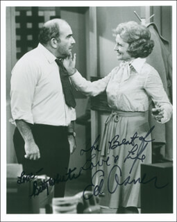 THE MARY TYLER MOORE SHOW TV CAST - AUTOGRAPHED SIGNED PHOTOGRAPH CO-SIGNED BY: ED ASNER, BETTY WHITE