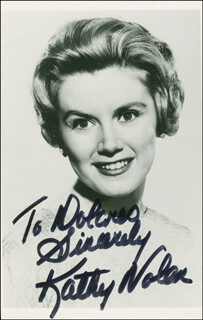 KATHLEEN NOLAN - AUTOGRAPHED INSCRIBED PHOTOGRAPH
