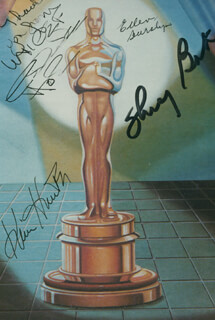 CELESTE HOLM - AUTOGRAPHED SIGNED PHOTOGRAPH CO-SIGNED BY: SHIRLEY BOOTH, ELLEN BURSTYN, KIM HUNTER