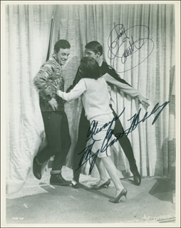 GET YOURSELF A COLLEGE GIRL MOVIE CAST - AUTOGRAPHED SIGNED PHOTOGRAPH CO-SIGNED BY: MARY ANN MOBLEY, CHAD EVERETT