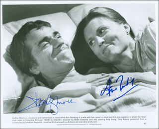 MICKI & MAUDE MOVIE CAST - AUTOGRAPHED SIGNED PHOTOGRAPH CO-SIGNED BY: ANN REINKING, DUDLEY MOORE