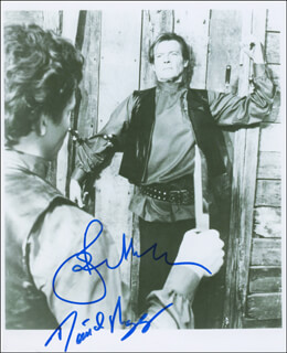 OCTOPUSSY MOVIE CAST - AUTOGRAPHED SIGNED PHOTOGRAPH CO-SIGNED BY: ROGER MOORE, DAVID MEYER