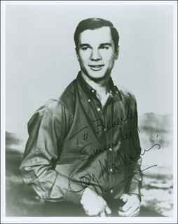 GEORGE MAHARIS - AUTOGRAPHED INSCRIBED PHOTOGRAPH
