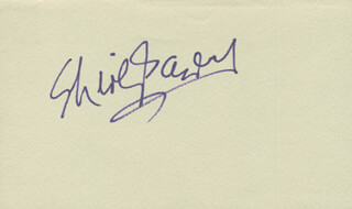 SHIRLEY BASSEY - AUTOGRAPH