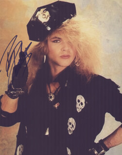 POISON (RICKI ROCKETT) - AUTOGRAPHED SIGNED PHOTOGRAPH
