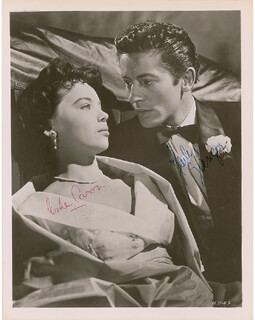 THE STORY OF THREE LOVES MOVIE CAST - AUTOGRAPHED SIGNED PHOTOGRAPH CO-SIGNED BY: LESLIE CARON, FARLEY GRANGER