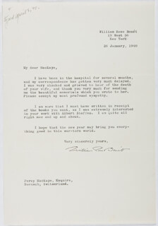 WILLIAM ROSE BENET - TYPED LETTER SIGNED 01/26/1940