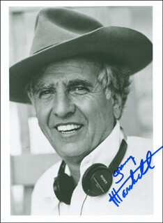 GARRY MARSHALL - AUTOGRAPHED SIGNED PHOTOGRAPH
