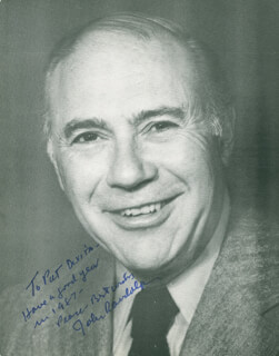 JOHN RANDOLPH - AUTOGRAPHED INSCRIBED PHOTOGRAPH 1987