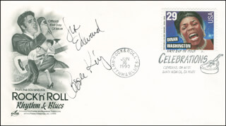 CAROLE KING - INSCRIBED COMMEMORATIVE ENVELOPE SIGNED