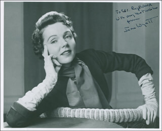 JANE WYATT - AUTOGRAPHED INSCRIBED PHOTOGRAPH