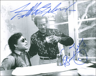 Autographs: CHUCK BERRY - PHOTOGRAPH SIGNED CO-SIGNED BY: LITTLE RICHARD