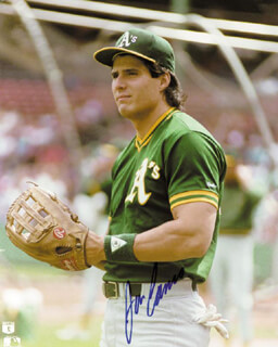 JOSE CANSECO - AUTOGRAPHED SIGNED PHOTOGRAPH