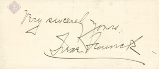 IRENE FENWICK - AUTOGRAPH SENTIMENT SIGNED