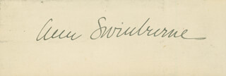 ANN SWINBURNE - AUTOGRAPH