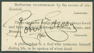 ROBERT EDESON - QUOTATION SIGNED