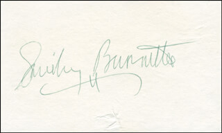 SMILEY (LESTER) BURNETTE - AUTOGRAPH  - HFSID 297623