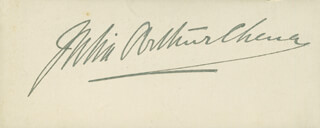 Autographs: JULIA ARTHUR - SIGNATURE(S)