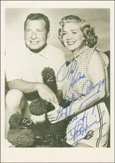 ALICE FAYE - AUTOGRAPHED INSCRIBED PHOTOGRAPH CO-SIGNED BY: PHIL HARRIS