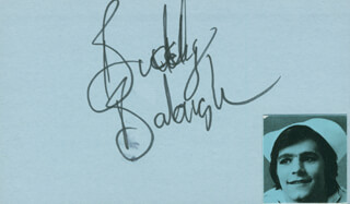 Autographs: BUDDY BALOUGH - SIGNATURE(S)