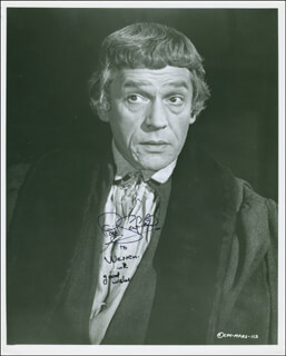 PAUL SCOFIELD - AUTOGRAPHED INSCRIBED PHOTOGRAPH