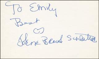 JOLENE BRAND - AUTOGRAPH NOTE SIGNED