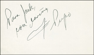 MARILYN PUPO - AUTOGRAPH NOTE SIGNED