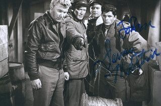 DEWEY MARTIN - AUTOGRAPHED INSCRIBED PHOTOGRAPH