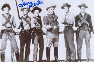 DEWEY MARTIN - AUTOGRAPHED SIGNED PHOTOGRAPH