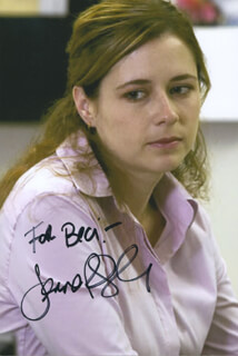 JENNA FISCHER - AUTOGRAPHED INSCRIBED PHOTOGRAPH