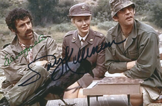 M*A*S*H MOVIE CAST - AUTOGRAPHED SIGNED PHOTOGRAPH CO-SIGNED BY: ELLIOTT GOULD, SALLY KELLERMAN
