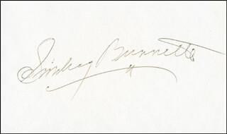 SMILEY (LESTER) BURNETTE - AUTOGRAPH