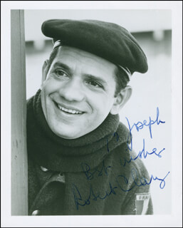 ROBERT CLARY - AUTOGRAPHED INSCRIBED PHOTOGRAPH