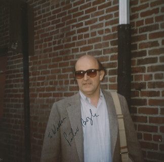 PETER BOYLE - AUTOGRAPHED INSCRIBED PHOTOGRAPH
