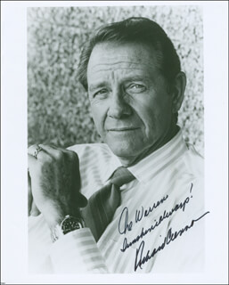 RICHARD CRENNA - AUTOGRAPHED INSCRIBED PHOTOGRAPH