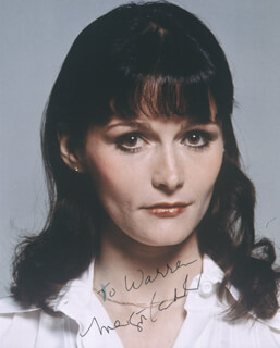 MARGOT KIDDER - AUTOGRAPHED INSCRIBED PHOTOGRAPH
