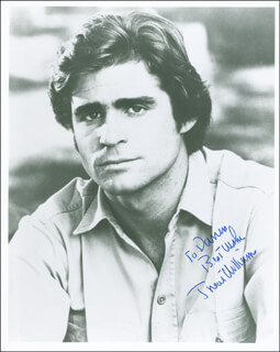 TREAT WILLIAMS - AUTOGRAPHED INSCRIBED PHOTOGRAPH