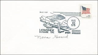 NONA MALLOY GOARD - COMMEMORATIVE ENVELOPE SIGNED