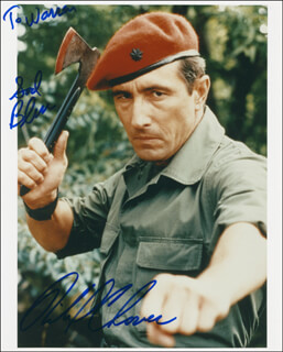 RICHARD GLOVER - AUTOGRAPHED INSCRIBED PHOTOGRAPH