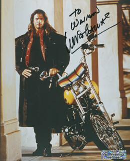 LORENZO LAMAS - AUTOGRAPHED INSCRIBED PHOTOGRAPH