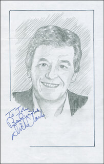 JOHN RAITT - INSCRIBED ORIGINAL ART SIGNED CO-SIGNED BY: DICK CLARK