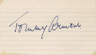 Autographs: TOMMY ARMOUR  - SIGNATURE(S)