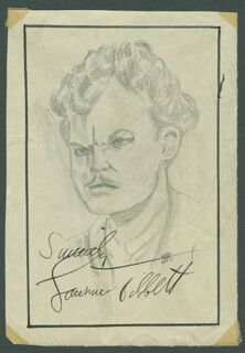 JOHN RAITT - ORIGINAL ART SIGNED CO-SIGNED BY: LAWRENCE TIBBETT