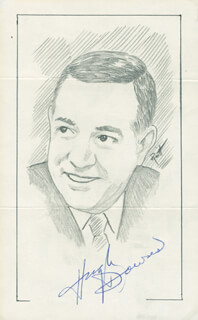 JOHN RAITT - ORIGINAL ART SIGNED CO-SIGNED BY: HUGH DOWNS