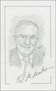 JOHN RAITT - ORIGINAL ART SIGNED CO-SIGNED BY: ED McMAHON