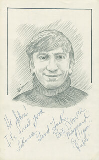 JOHN RAITT - INSCRIBED ORIGINAL ART SIGNED CO-SIGNED BY: BOB DENVER