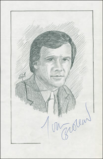 JOHN RAITT - ORIGINAL ART SIGNED CO-SIGNED BY: TOM BROKAW