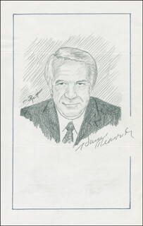 JOHN RAITT - ORIGINAL ART SIGNED CO-SIGNED BY: HARRY REASONER