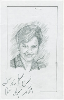 JOHN RAITT - INSCRIBED ORIGINAL ART SIGNED CO-SIGNED BY: KATIE COURIC
