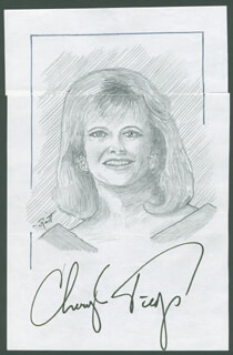 JOHN RAITT - ORIGINAL ART SIGNED CO-SIGNED BY: CHERYL TIEGS
